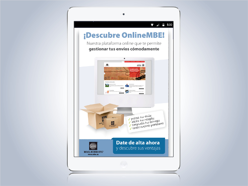 E-mailing OnlineMBE